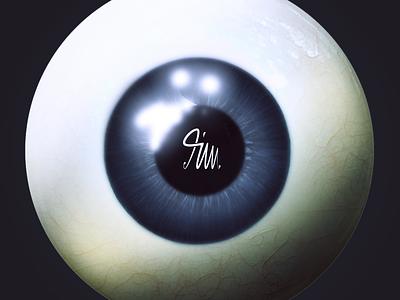 Digital training digitalpainting artwork drawing photoshop painting colorful eye eyes blue