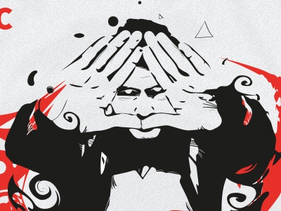 Onurfacebook art illustration vector vectorart illuminati design kunst