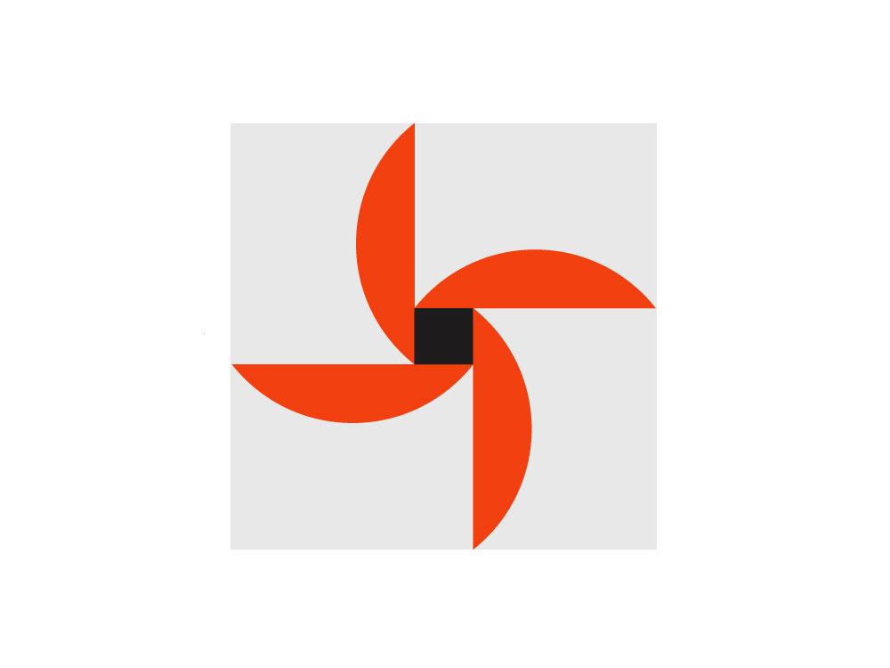 A flower pattern vector clean flat illustrator typography illustration minimal branding design