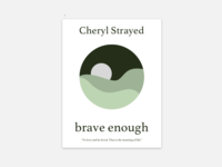 Brave Enough Book Cover Redesign