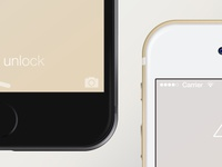 Realistic iPhone 6 mock-up (PSD)