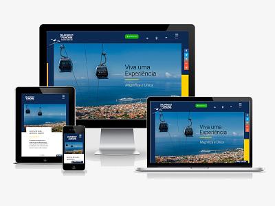 Madeira Cable Car website sass wordpress responsive rwd ui