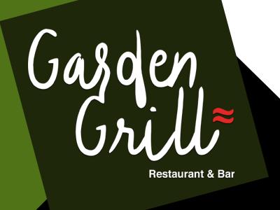 Logo Design Madeira Garden Grill logo design restaurant logo design