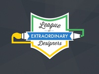 League Of Extraordinary Designers Badge Rebound