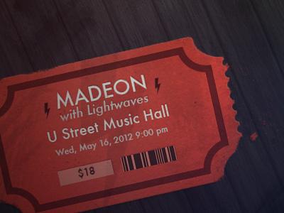 Madeon ticket