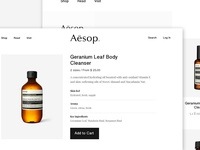 Daily UI Day 12 -  E-Commerce