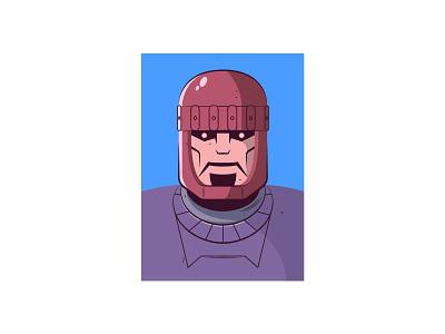 Sentinel x-men vector illustration