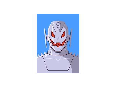 Ultron vector illustration