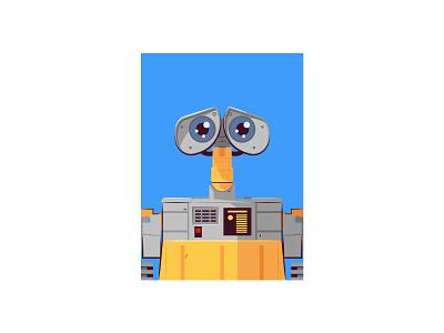 Wall-e vector illustration
