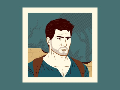 The Adventurers, part 3 nathan drake uncharted character design illustration