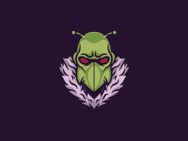 Killer Moth killer moth sticker batman logo badge illustration