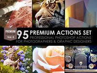 95 Premium Actions Set