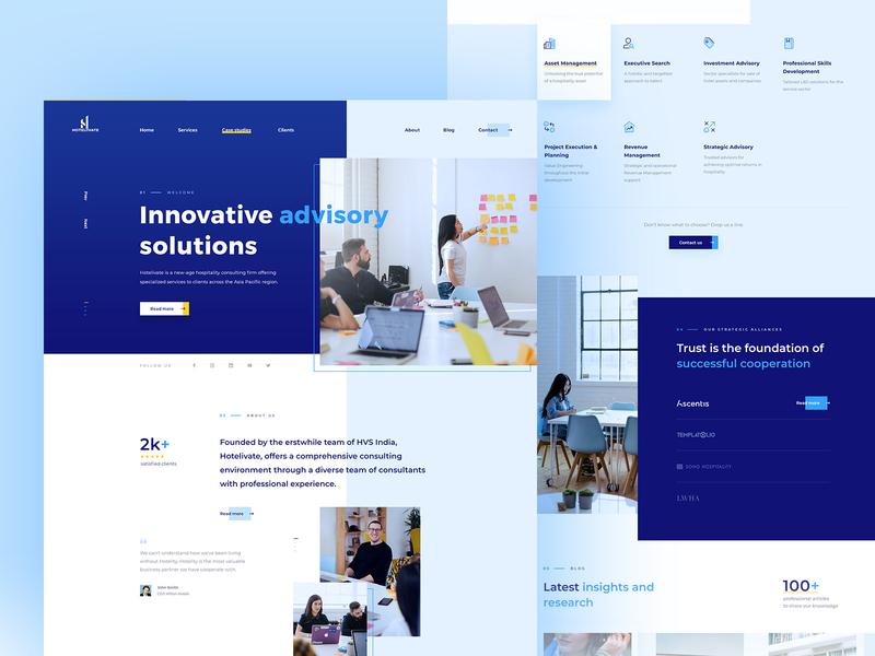 Hotelivate WordPress Web Design services hospitality advice hotel web webdesign design