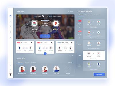Football Live Streaming objectivity live streaming live stream dashboard desktop app soccer football