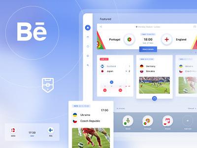 LineUp - An App for Football Fans objectivity dashboard ui soccer dashboard platform lineup football app