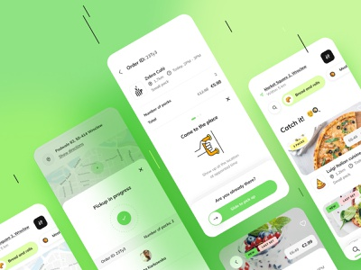 Foodsi App - Buy and pick up the pack! payment pick up buing objectivity foodsi ui app