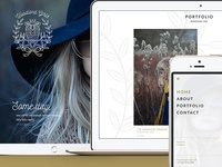 Woodlandgirls - responsive webdesign