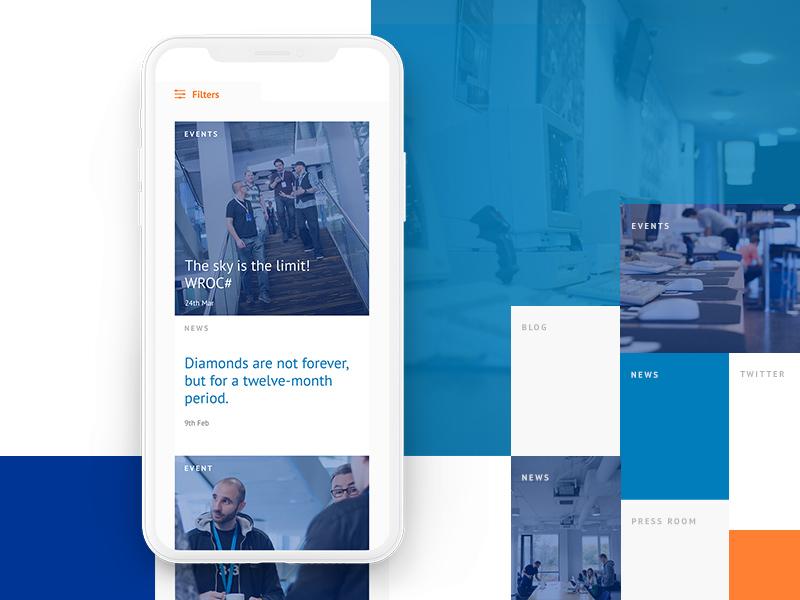 Livebox - Be up to date design web ux ui livebox subpage webdesign objectivity