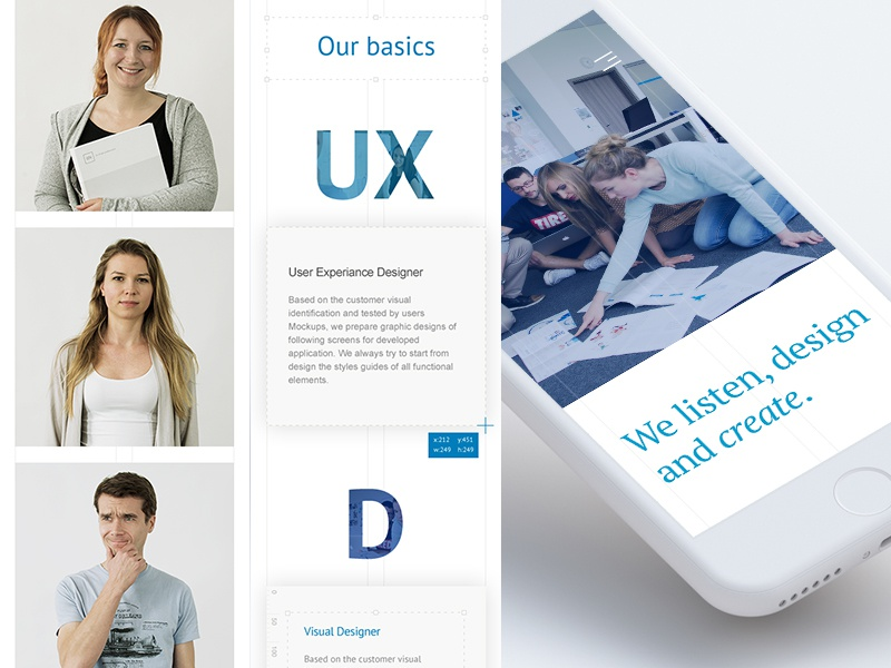 Objectivity Designers Team - mobile objectivity responsive rwd webdesign design mobile ux ui