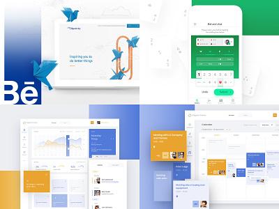 2018 rwd webdesign app dashboard design ux ui