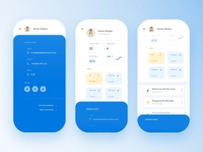 Team Management App - User profile