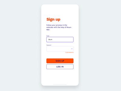 Login screen sign up ui sign up login design login ui dailyui uxdiary