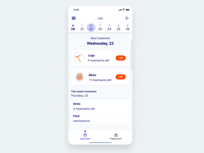 Silk expert pro redesign - main screen list cards uidesign ui uxdiary