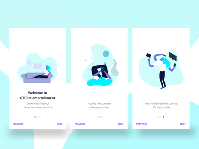 onboarding illustration android onboarding dailyui