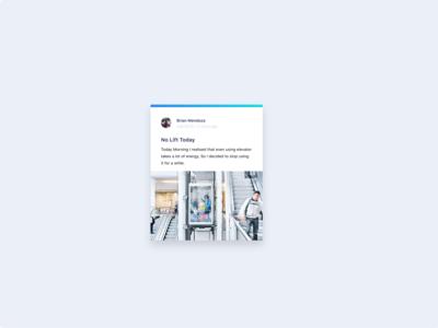 UI Card Concept