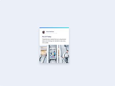 UI Card Concept cards ui uxdiary design uidesign uiux dailyui card