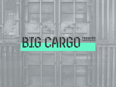 Big Cargo Records Logo Design