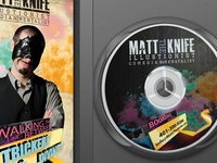 Matt the Knife Promotional DVD Booklet and Label