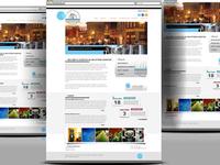 Uptown Lexington Website Layout