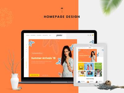 Website Design (Conceptual)