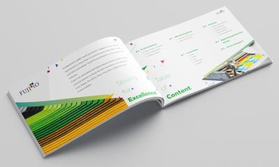 Fujito Brochure design