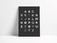 Writer Alphabet Poster