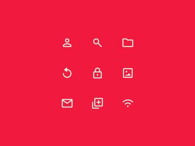 Speed Icons Design