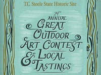 Redo: Great Outdoor Art Contest & Local Tastings Poster