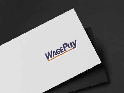 WagePay Logo Design