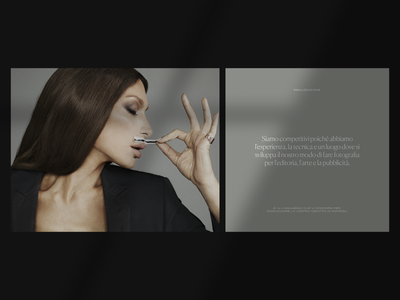 Fashion Card fashion typography web design layout ui minimal