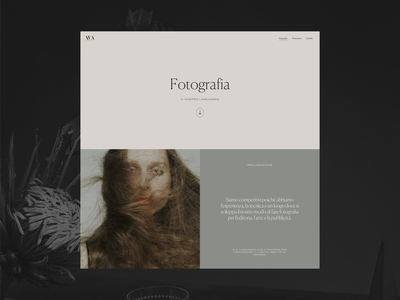 AVA Company is running for SOTD photography fashion typography photos web design layout ui minimal