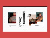 Streetwear — Website Concept