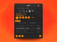AIMP4 - music player concept