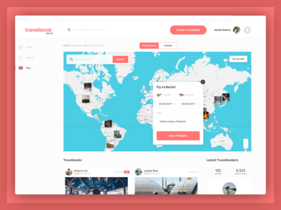 Fast Booking map interaction booking image project travel clean nimbl3 visual design ux ui