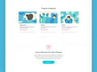 Braive LMS : Landing page