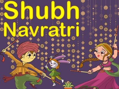 Navratri navratri illustration