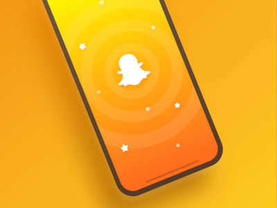 Snapchat Splash Screen Concept