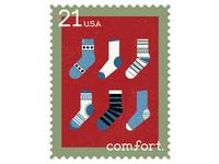 Hygge Serif Stamp Set - Comfort