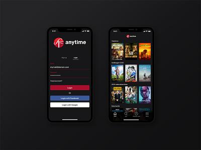 SF Anytime Redesign ui app design