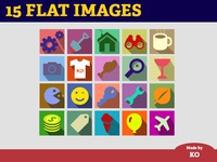 Flat shadowed images